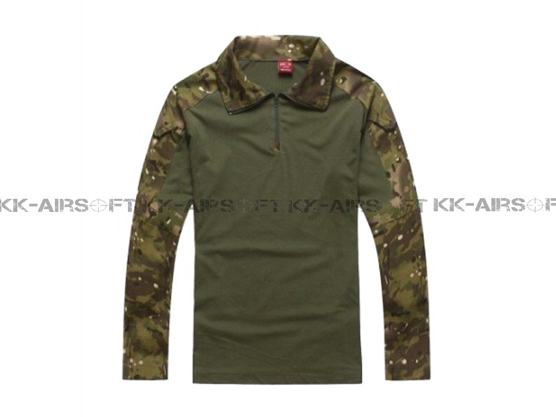 Knee-and-Elbow-Protected-Tactical-BDU-Combat-Uniform-Multicam-02382